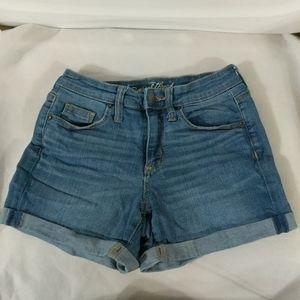 Universal Thread Rolled Cuff Shorts - size 0